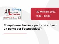 Competenze, lavoro e politiche attive: il 30 marzo diretta Facebook